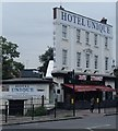 TQ2587 : Hotel Unique, Golders Green by Andrew Hill