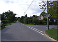 TG2503 : Caistor Lane, Framingham Earl by Adrian Cable