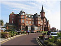 J3831 : Slieve Donard hotel, Newcastle by Gareth James