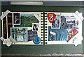 NS5574 : Milngavie underpass murals by Thomas Nugent