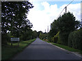TG2503 : Entering Caistor St.Edmund on Caistor Lane by Adrian Cable