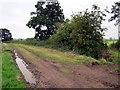 SJ4358 : Footpath near Lea Hall by Jeff Buck