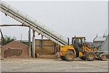 TF3243 : Boston Readymix Plant, Boston by Dave Hitchborne