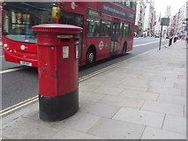 TQ3181 : City of London: postbox № EC4 409, Fleet Street by Chris Downer