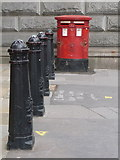 TQ3181 : London: postbox № WC1 57, Bell Yard by Chris Downer