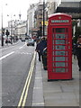 TQ3080 : London: red phone box, 368 Strand by Chris Downer