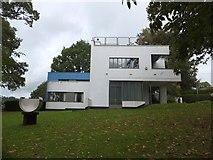 SX7962 : High Cross House, Dartington by David Smith
