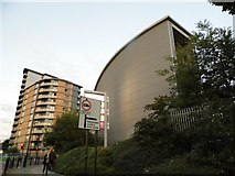 TQ2081 : Flats on Victoria Road, Park Royal by David Howard