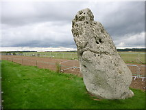 SU1242 : Stonehenge, Heel Stone by Mike Faherty
