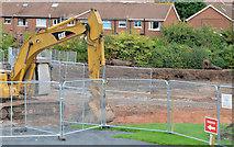 J3773 : Flood alleviation works, Orangefield Park, Belfast (2) by Albert Bridge