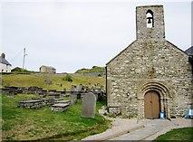 SH1726 : St Hywyn's Church by Chris McAuley