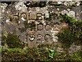 NU0336 : Inscription on Holburn Bridge by Graham Robson
