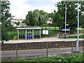 SJ6974 : Lostock Gralam - Station by Dave Bevis