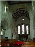 TQ1711 : Interior of St. Andrew's, Steyning by nick macneill
