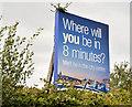 J3979 : Railway advertisement, Holywood by Albert Bridge