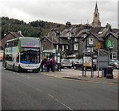 NY3704 : Stagecoach Cumbria double-decker in Ambleside by Jaggery
