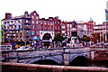 O1534 : O'Connell Bridge across the River Liffey by Joseph Mischyshyn
