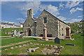 SH1726 : St Hywyn's Church, Aberdaron by Ian Capper