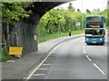 TQ7357 : Through the Bridge by David Dixon