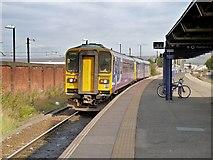 SD8912 : Train Leaving Platform 1 by David Dixon