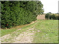 TM2792 : Field entrance off Low Road by Geographer