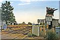 SK9443 : Site of Honington station, 1995 by Ben Brooksbank