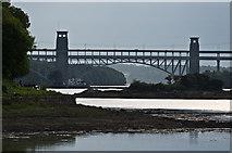 SH5571 : Towards Pont Britannia by Ian Capper