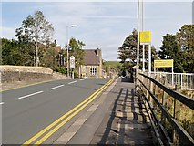 SD9311 : Newhey, Huddersfield Road by David Dixon