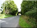 ST3997 : Bridge carrying the A449 over an older road by Christine Johnstone