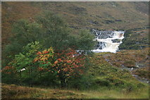 NH1282 : An angry waterfall on a chaotic autumn afternoon by Des Colhoun