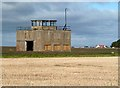NT5478 : An old RAF building at East Fortune by Walter Baxter