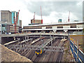 SP0786 : New Street station from Worcester Street by Robin Stott