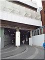 SP0786 : Walkway under the northeast corner of New Street station by Robin Stott