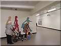 SP0686 : Way to the Bullring above New Street station concourse by Robin Stott