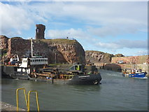 NT6779 : Coastal East Lothian : Shearwater And Homarus At Victoria Harbour, Dunbar by Richard West