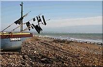 TQ1602 : Worthing Beach to Rottingdean by Peter Jeffery