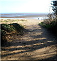 SS6291 : To the beach, Sketty, Swansea by Jaggery