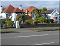 SS6291 : Houses and palm trees in Lower Sketty, Swansea by Jaggery