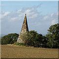 SP3241 : Compton Pike, sixteenth-century pyramidal stone beacon by Robin Stott