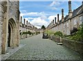 ST5545 : Vicars Close, Wells by Derek Voller