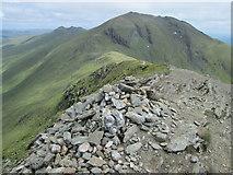 NN6240 : Beinn Ghlas summit by Peter S