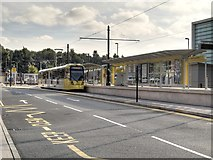 SD8912 : Metrolink Stop, Rochdale Railway Station by David Dixon