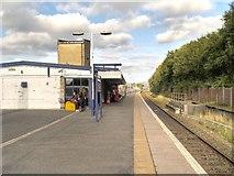 SD8912 : Platform 3, Rochdale Railway Station by David Dixon