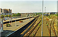 TQ2805 : Hove station, view west 1996 by Ben Brooksbank