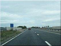 SK1409 : A38 at bridge over railway line by Colin Pyle