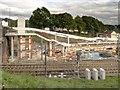 SD8500 : Queens Road Tram Stop Under Construction by David Dixon