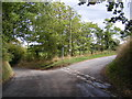 TM1041 : Chattisham Road, Washbrook by Adrian Cable