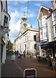 SY6778 : Weymouth, St. Mary's Church by Mike Faherty