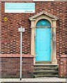 SJ9295 : Entrance to 55 Stockport Road, Denton by Gerald England