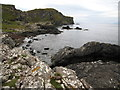 NG5708 : Rugged coastline south of Rubha Sloc an Eòrna by Maggie Cox